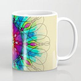 Unfinished Mandala watercolor Coffee Mug