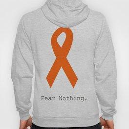 Orange Ribbon. Fear Nothing. Hoody