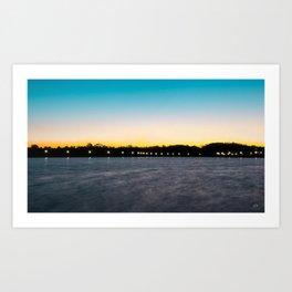 Blissful Sunrise Art Print