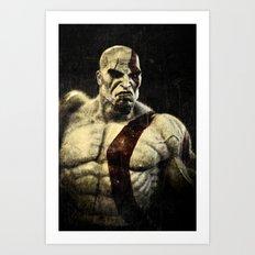 kratos Art Print