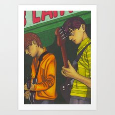 Blueboys Art Print