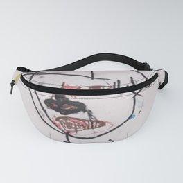 Basquiat Man 3 Fanny Pack