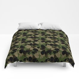 SKULL CAMO Comforters