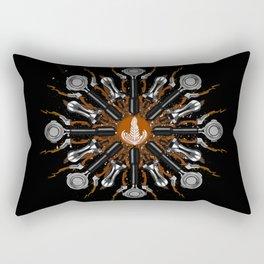Barista Flower Rectangular Pillow