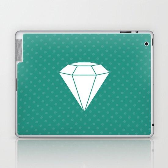 White Diamond Laptop & iPad Skin
