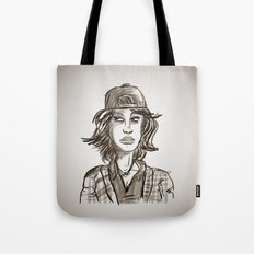 Hypebeast with Braces as a Girl Tote Bag