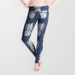 Pineapple Blues Leggings