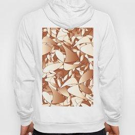 Pattern brown 156 Hoody