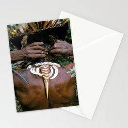 Papua New Guinea Sing Sing Stationery Cards
