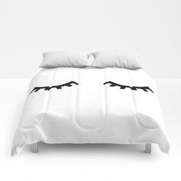 eyelashes Comforters