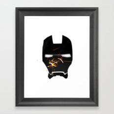 UNREAL PARTY 2012 AVENGERS IRON MAN SPARKS FLYERS  Framed Art Print