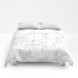 White Marble Comforters