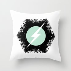 BOLT THROUGH PORTAL. Throw Pillow