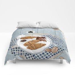 Croissants With Cherry Jam Comforters