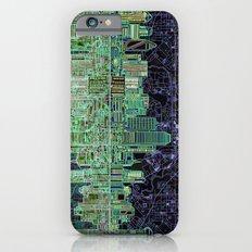 Dallas city skyline iPhone 6 Slim Case