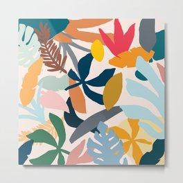 Abstract Floral No.1 Metal Print