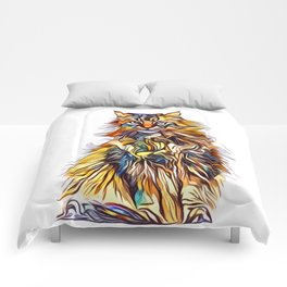Mixed Up Maine Coon Comforters