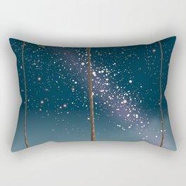 Palms under the Stars, Rectangular Pillow