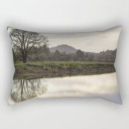 Rainy Day Turnaround Rectangular Pillow