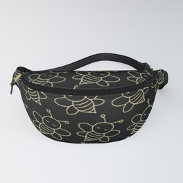 Fluorescent Bees Fanny Pack