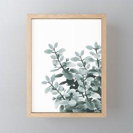 Eucalyptus Leaves Green Vibes #1 #foliage #decor #art #society6 Framed Mini Art Print