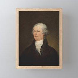 Alexander Hamilton Painting - John Trumbull Framed Mini Art Print