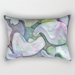 At the end Rectangular Pillow
