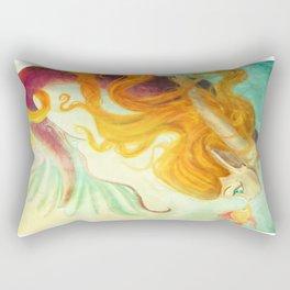 Coral's New Friend Rectangular Pillow