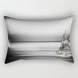 Buddha with swan Rectangular Pillow