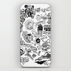 3am Thoughts Club iPhone & iPod Skin