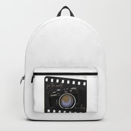 Camera Vintage: see the world in a lens Backpack