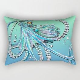 Drunk Octopus Rectangular Pillow