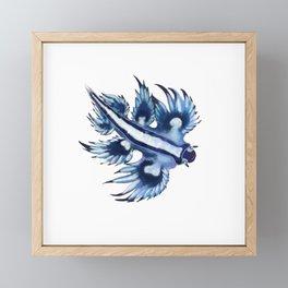 Glaucus atlanticus Framed Mini Art Print