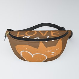 Love cats Fanny Pack