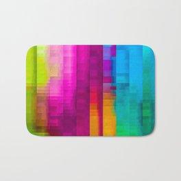 Vertical Rainbow Color Palette Badematte