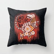 A Grim Find Throw Pillow