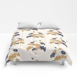 Gold Flower 1 Comforters