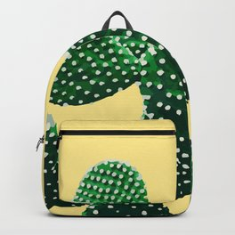 Prickly Plant ( yellow ) Backpack