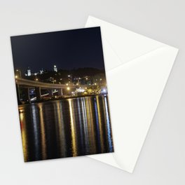 Night By The Bridge Stationery Cards