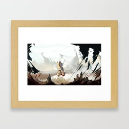 Steam Machine Framed Art Print