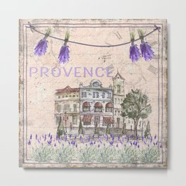 Provence France - my love  - Lavender and Summer Metal Print