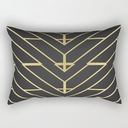 """3 Points Where 2 Lines Meet"" Rectangular Pillow"
