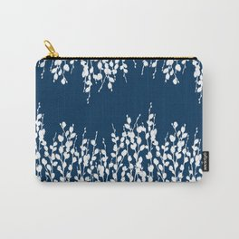 Pussywillow Silhouettes — Midnight Blue Carry-All Pouch