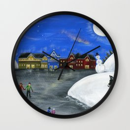 Hilly Hope Wall Clock
