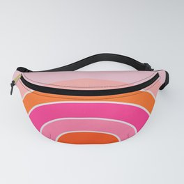 Rainbow sunset Fanny Pack