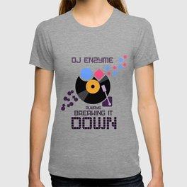 DJ Enzyme - Always Breaking It Down T-shirt
