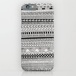 Pattern Line Abstract iPhone Case