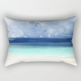 Maldives colors Rectangular Pillow