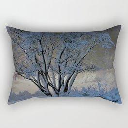 Evening Snow Rectangular Pillow