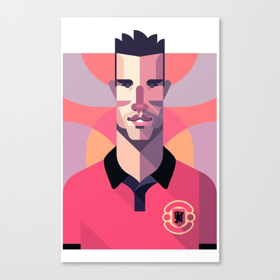 RVP20 | Red Devils Canvas Print